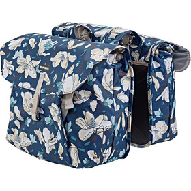 Basil Magnolia Double Pannier Bag 35l, teal blue